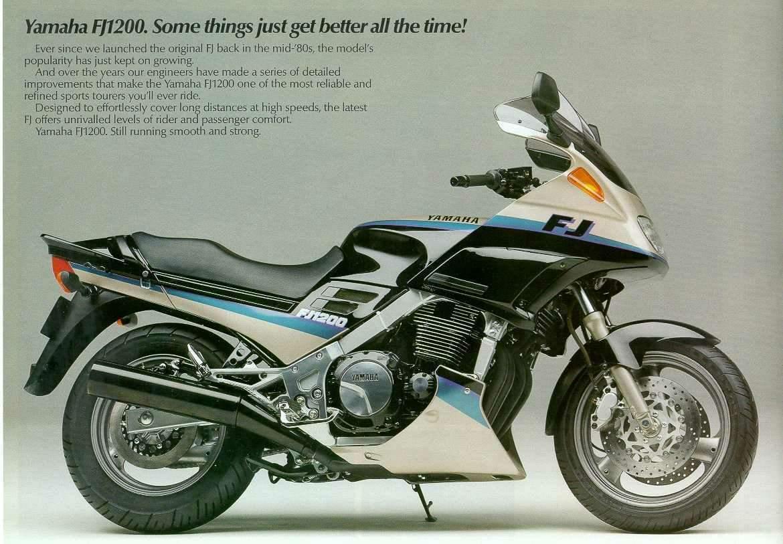 1986 Yamaha FJ 1200: pics, specs and information