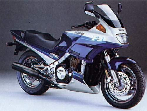 1995 Yamaha FJ 1200 ABS - Moto.ZombDrive.COM