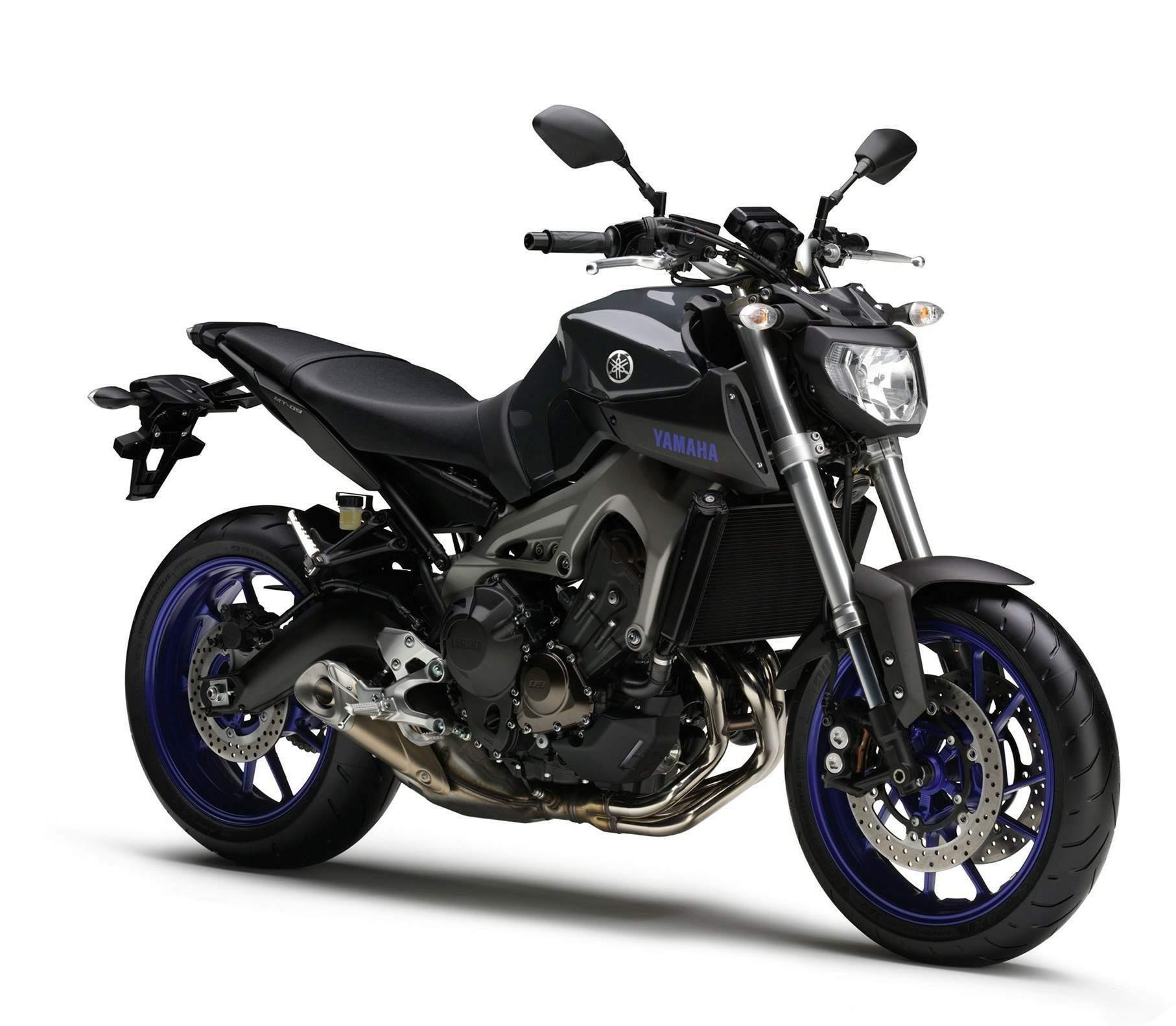 Yamaha MT-09 ABS 2014 Purple - YouTube