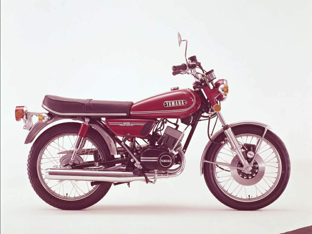 yamaha rd 125 specs 1973 1974 1975 1976 1977 1978. Black Bedroom Furniture Sets. Home Design Ideas