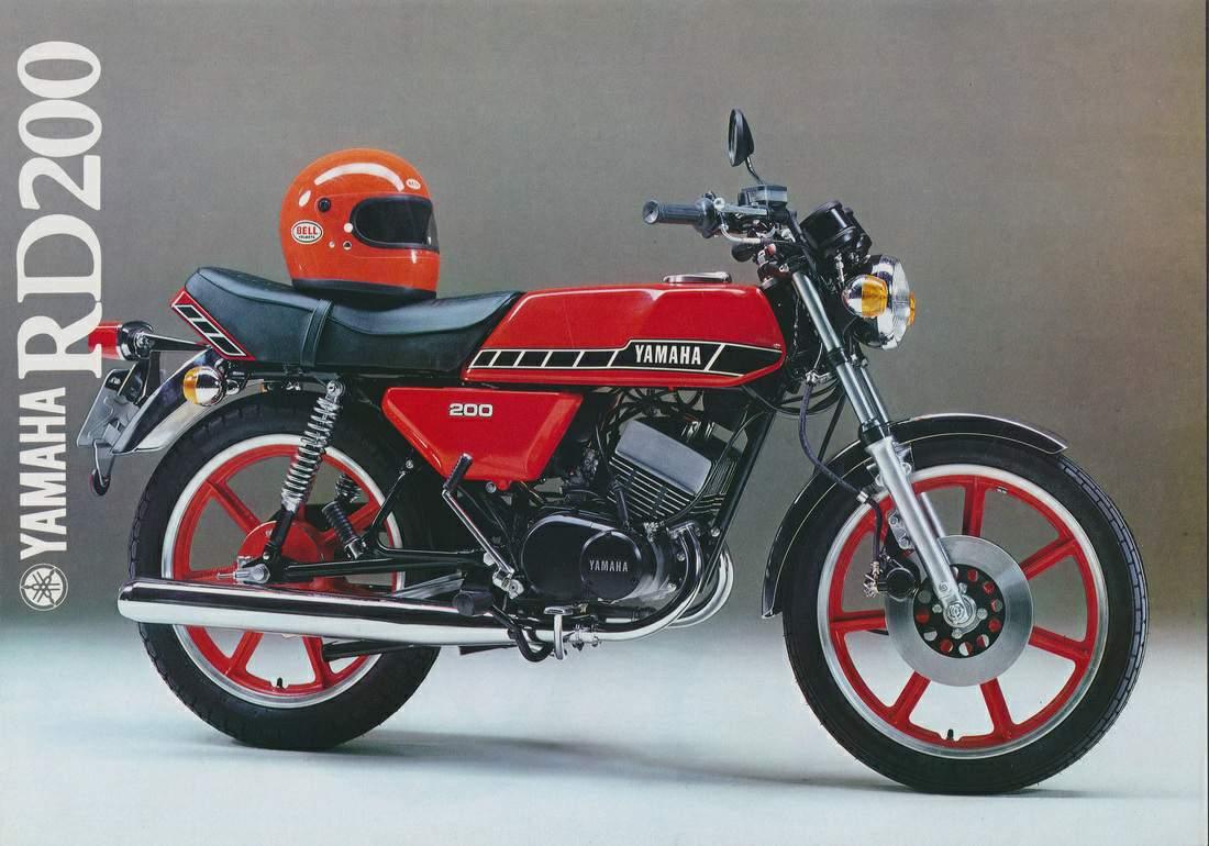 Yamaha Rd 200 Specs 1974 1975 1976 1977 1978 1979