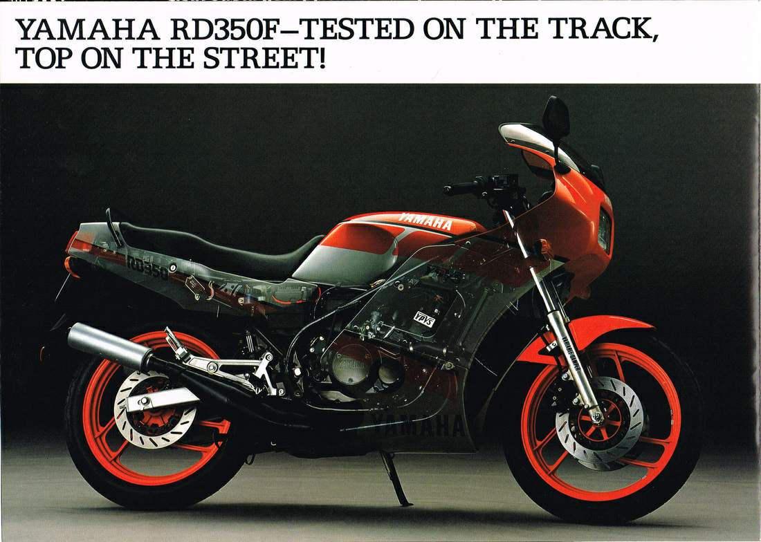 YAMAHA RD 350 F2 specs - 1987, 1988, 1989 - autoevolution