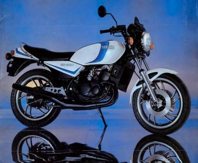 YAMAHA RD 350LC specs - 1980, 1981 - autoevolution