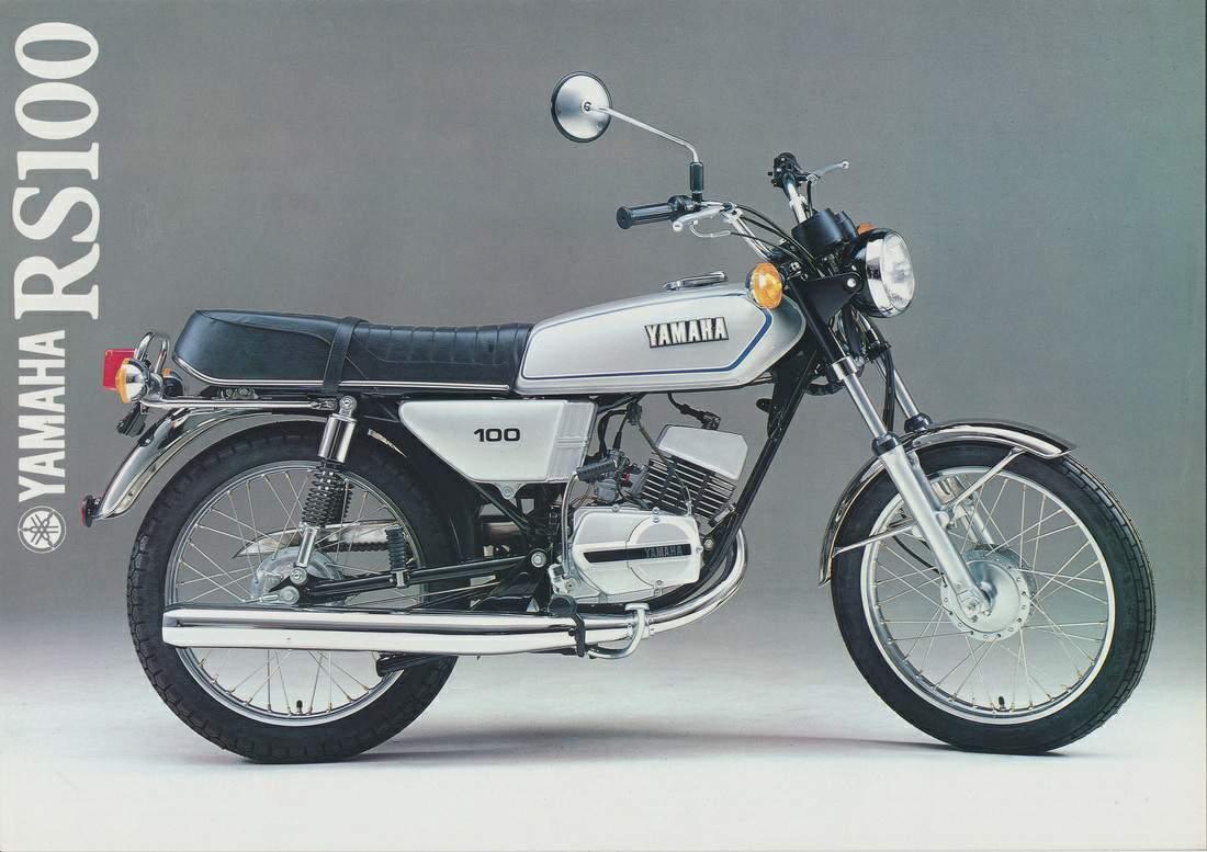 YAMAHA RS 100 specs - 1976, 1977, 1978, 1979, 1980, 1981 ...