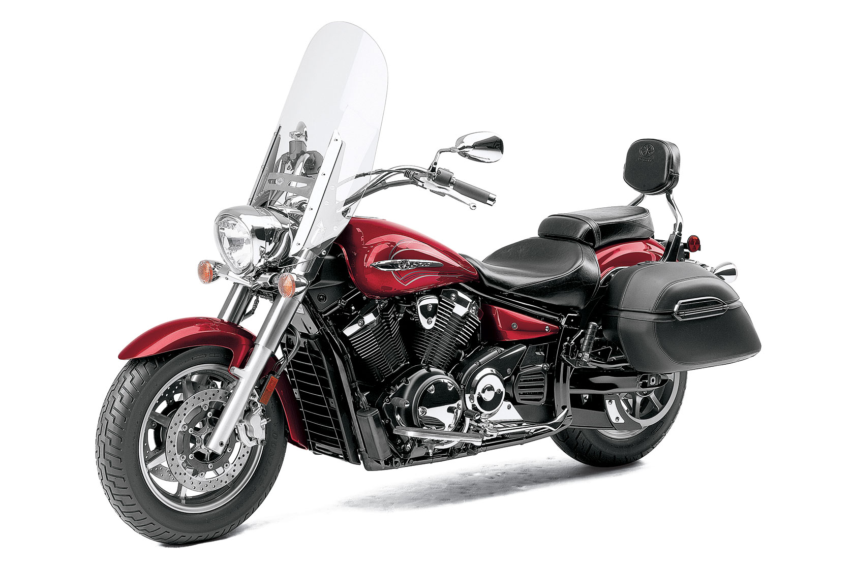 Yamaha V Star Tourer Backrest