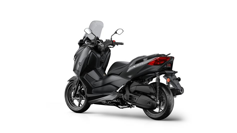 yamaha x max 125 specs 2018 autoevolution. Black Bedroom Furniture Sets. Home Design Ideas