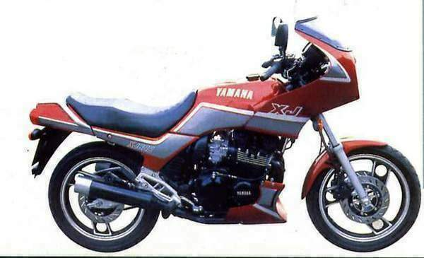 yamaha xj 600 specs 1984 1985 1986 1987 1988 1989. Black Bedroom Furniture Sets. Home Design Ideas