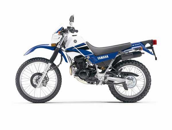 yamaha xt225 specs - 2006  2007