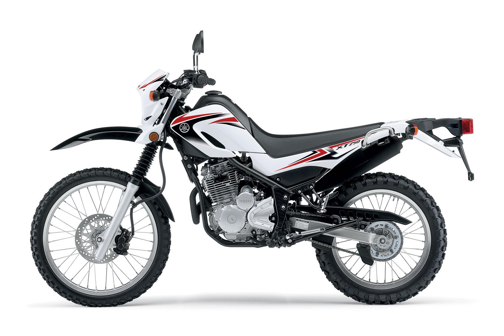 yamaha xt250 specs - 2010  2011