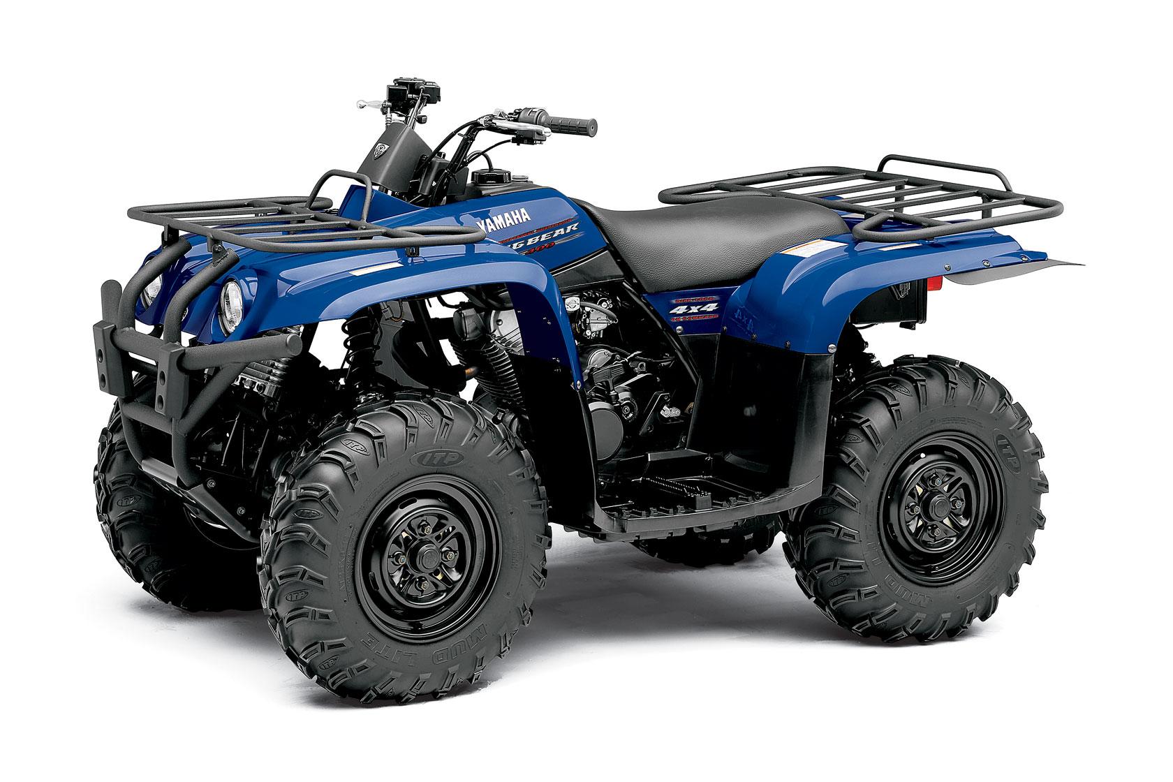 Yamaha Bear Tracker Specifications