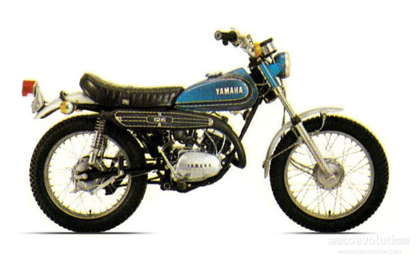 yamaha dt 125 specs 1974 1975 autoevolution. Black Bedroom Furniture Sets. Home Design Ideas