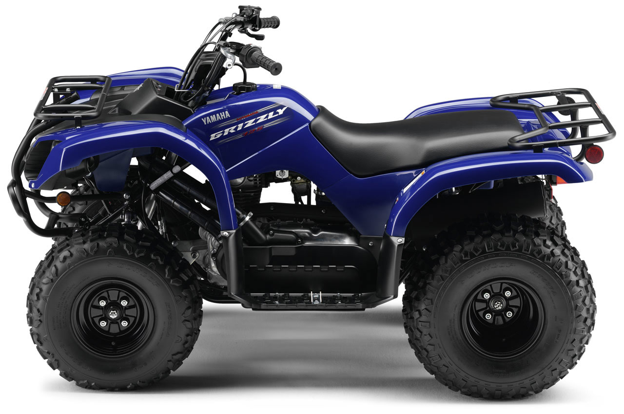 yamaha grizzly 125 specs 2009 2010 autoevolution. Black Bedroom Furniture Sets. Home Design Ideas