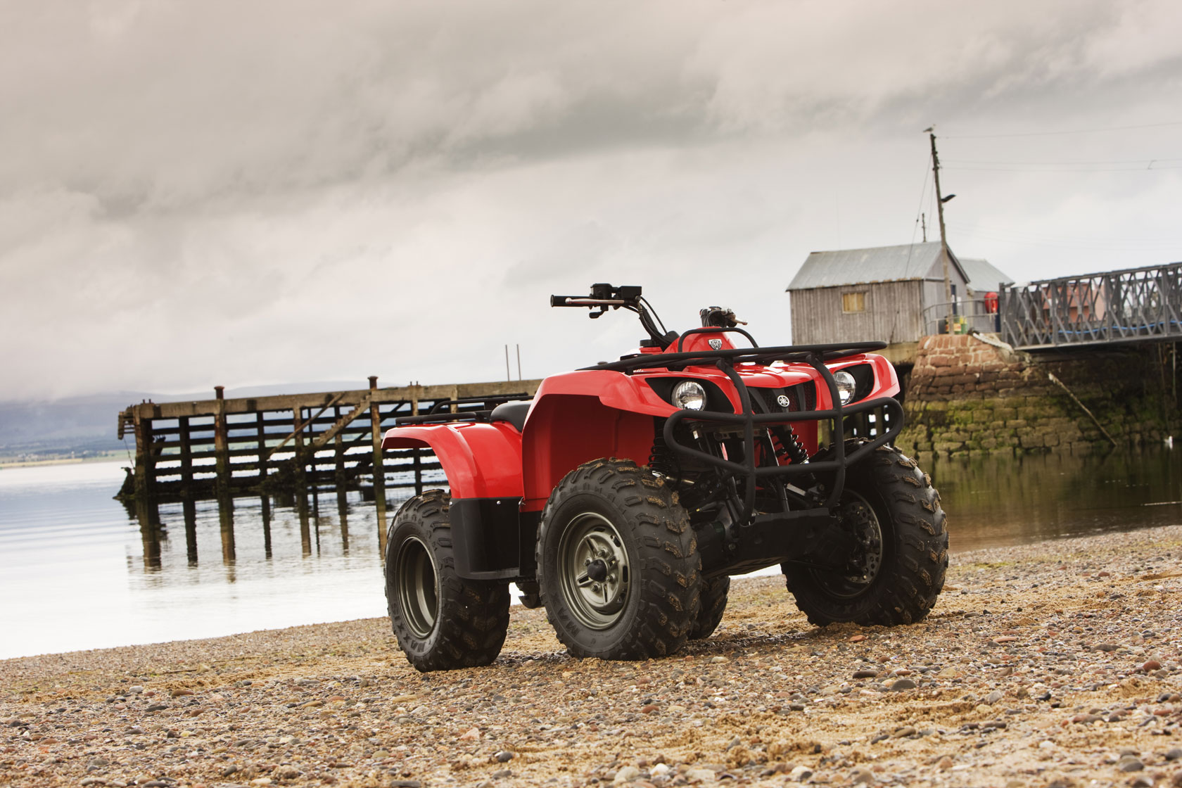 YAMAHA Grizzly 350 4x4 (2008 - 2009) ...