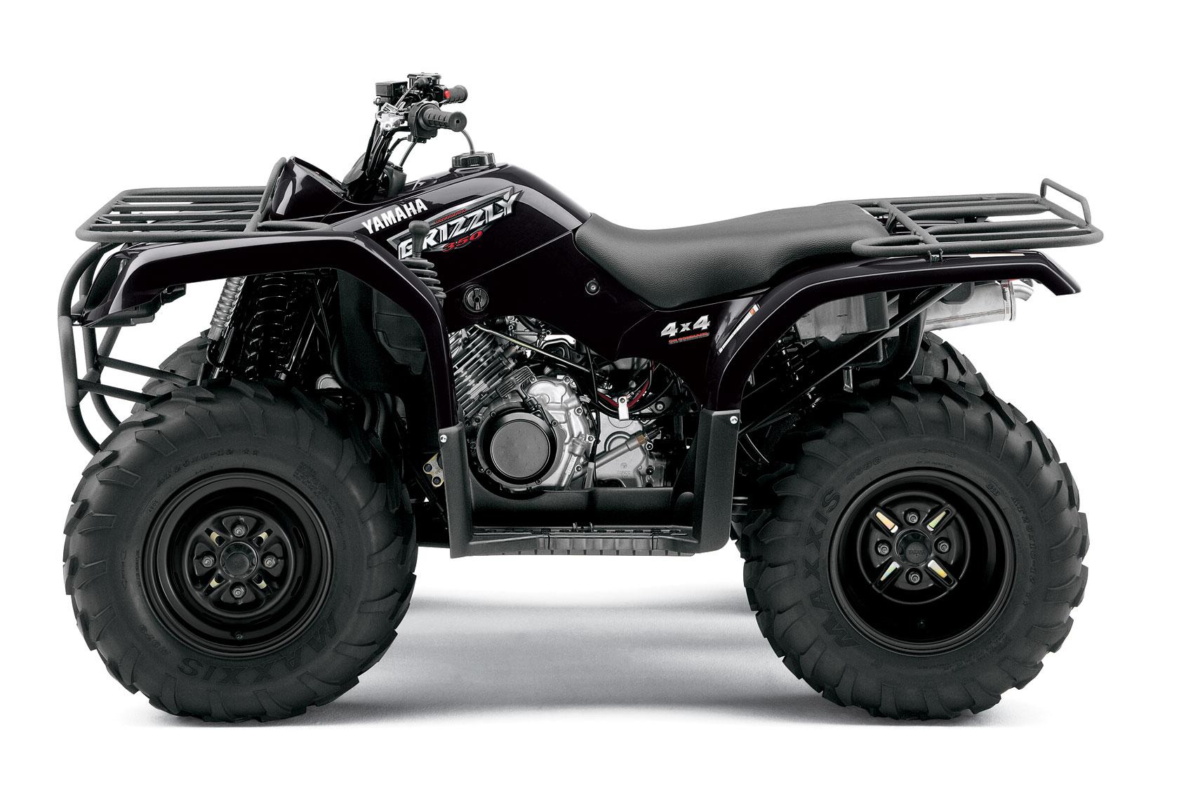 Yamaha Bruin 350 >> YAMAHA Grizzly 350 4x4 specs - 2008, 2009 - autoevolution