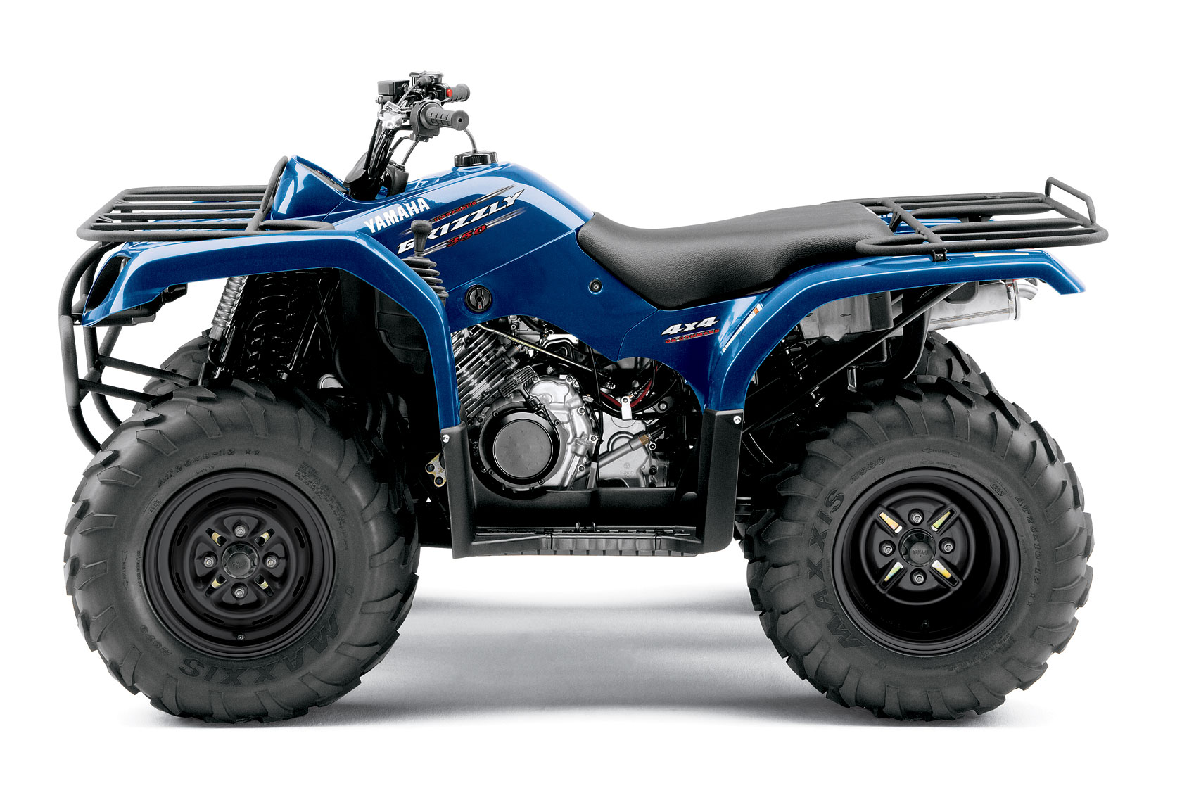 Yamaha Grizzly Oil Capacity