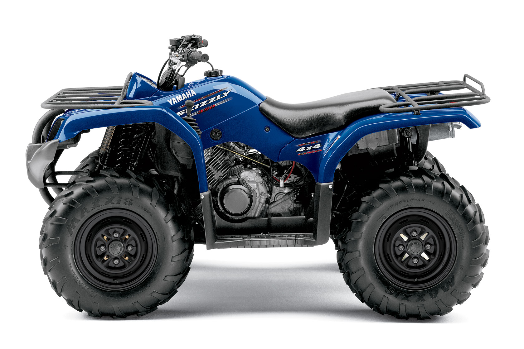 Yamaha grizzly 350 4x4 irs specs 2009 2010 autoevolution for Yamaha 350 grizzly
