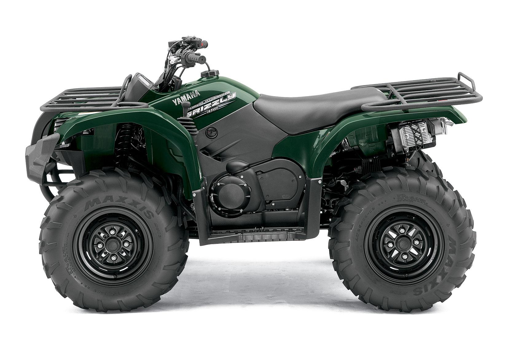 YAMAHA Grizzly 450 4x4 EPS specs - 2010, 2011 - autoevolution