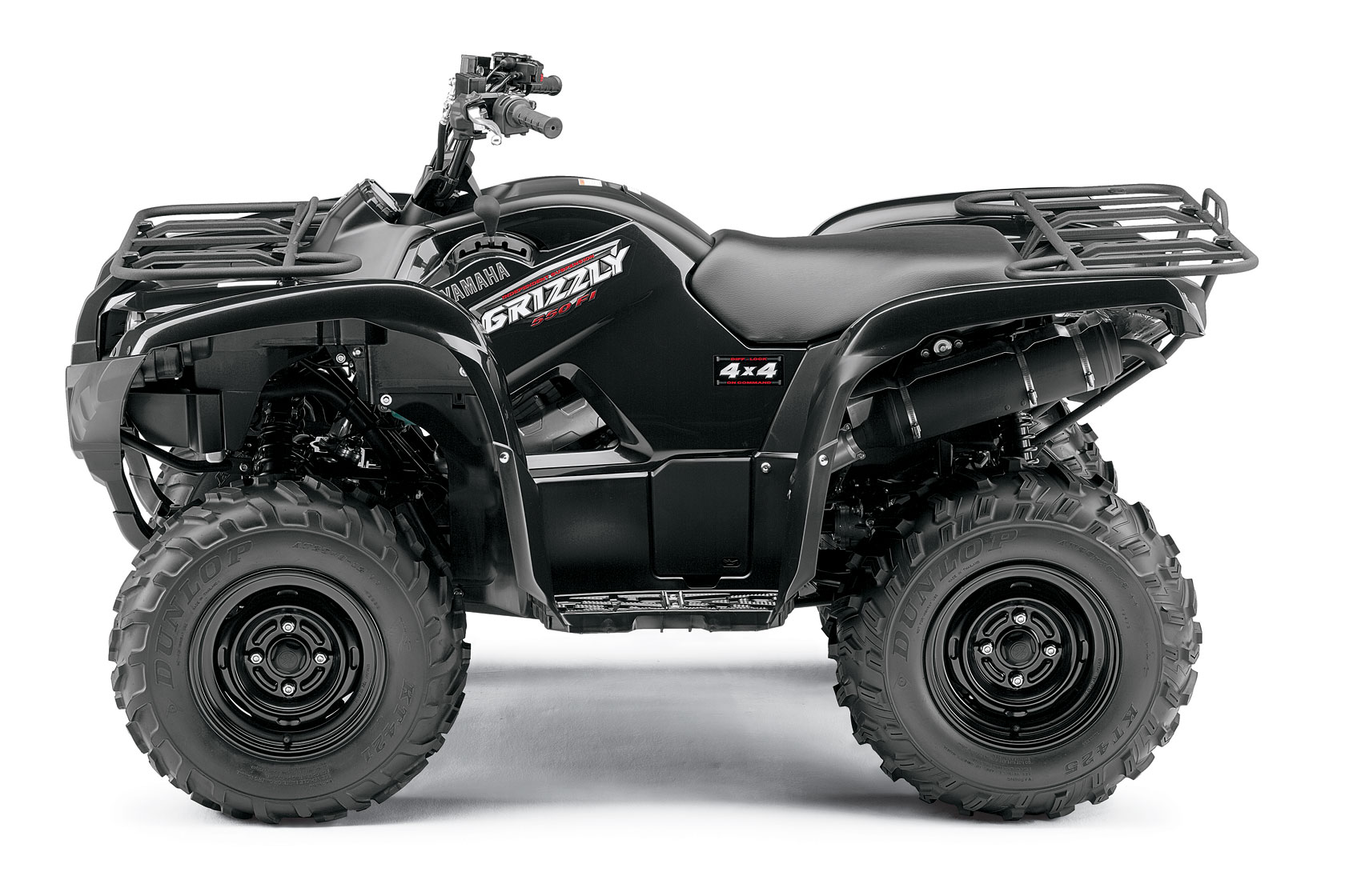 yamaha grizzly 550 fi specs 2008 2009 autoevolution. Black Bedroom Furniture Sets. Home Design Ideas
