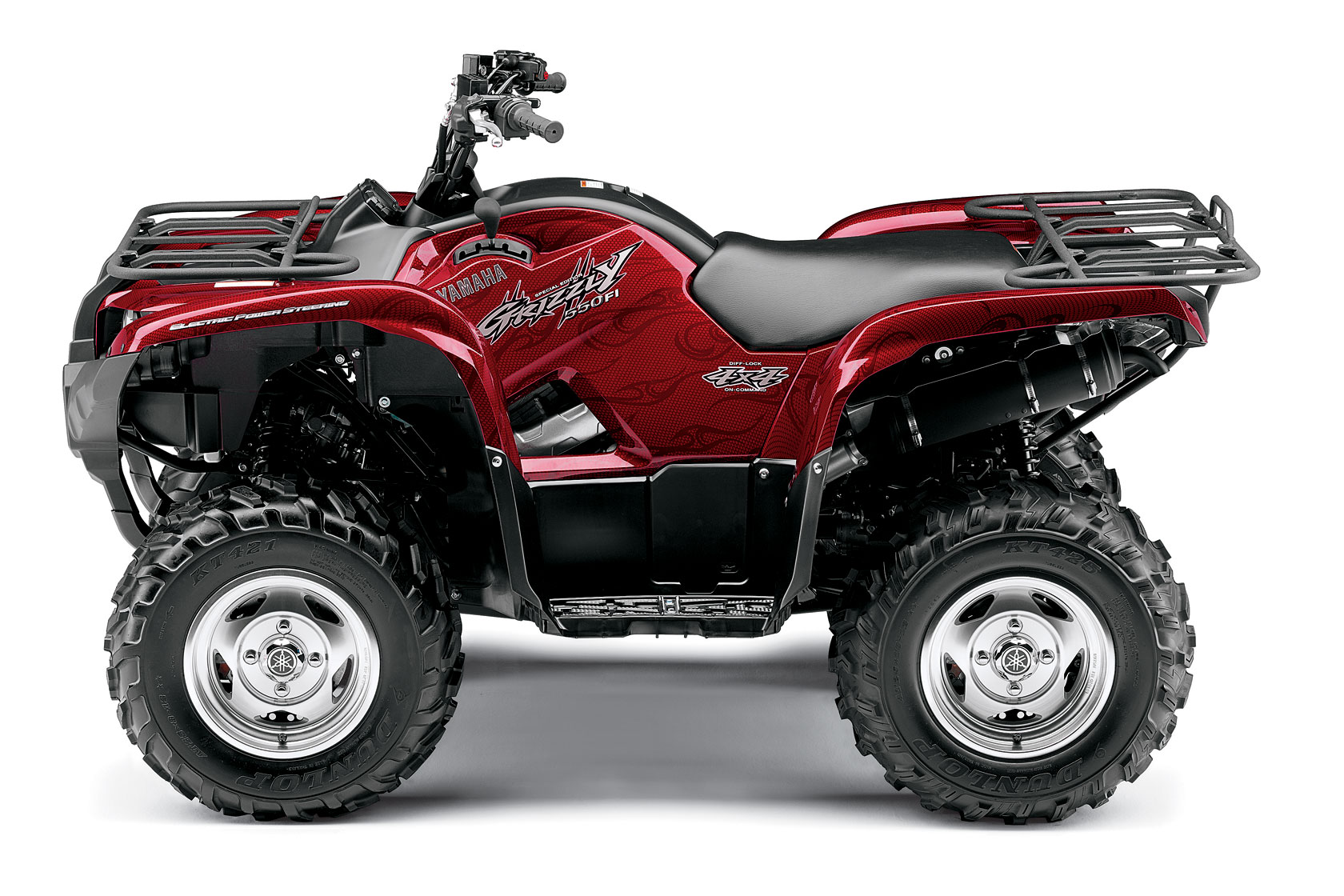 Yamaha grizzly 550 fi eps special edition 2008 2009 for 2018 yamaha grizzly 700 hp