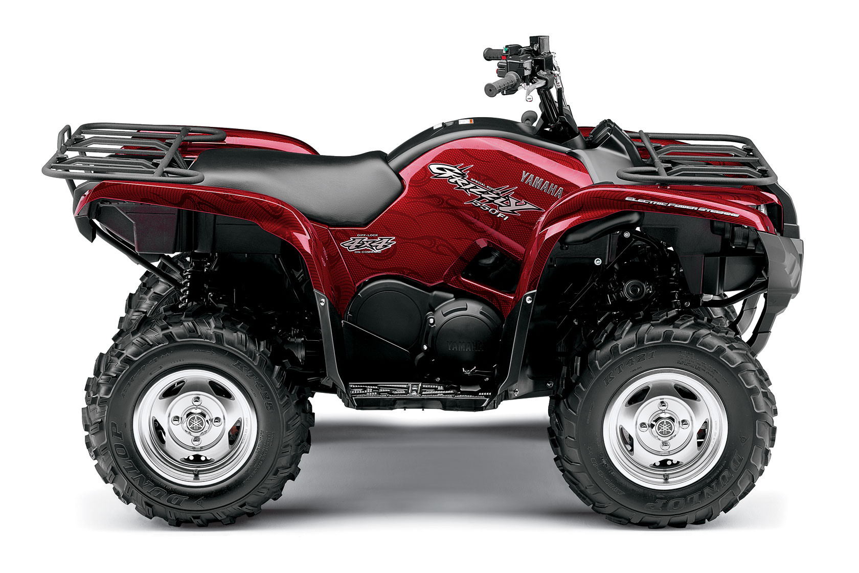 Yamaha grizzly 550 fi eps special edition specs 2008 for Yamaha grizzly 600