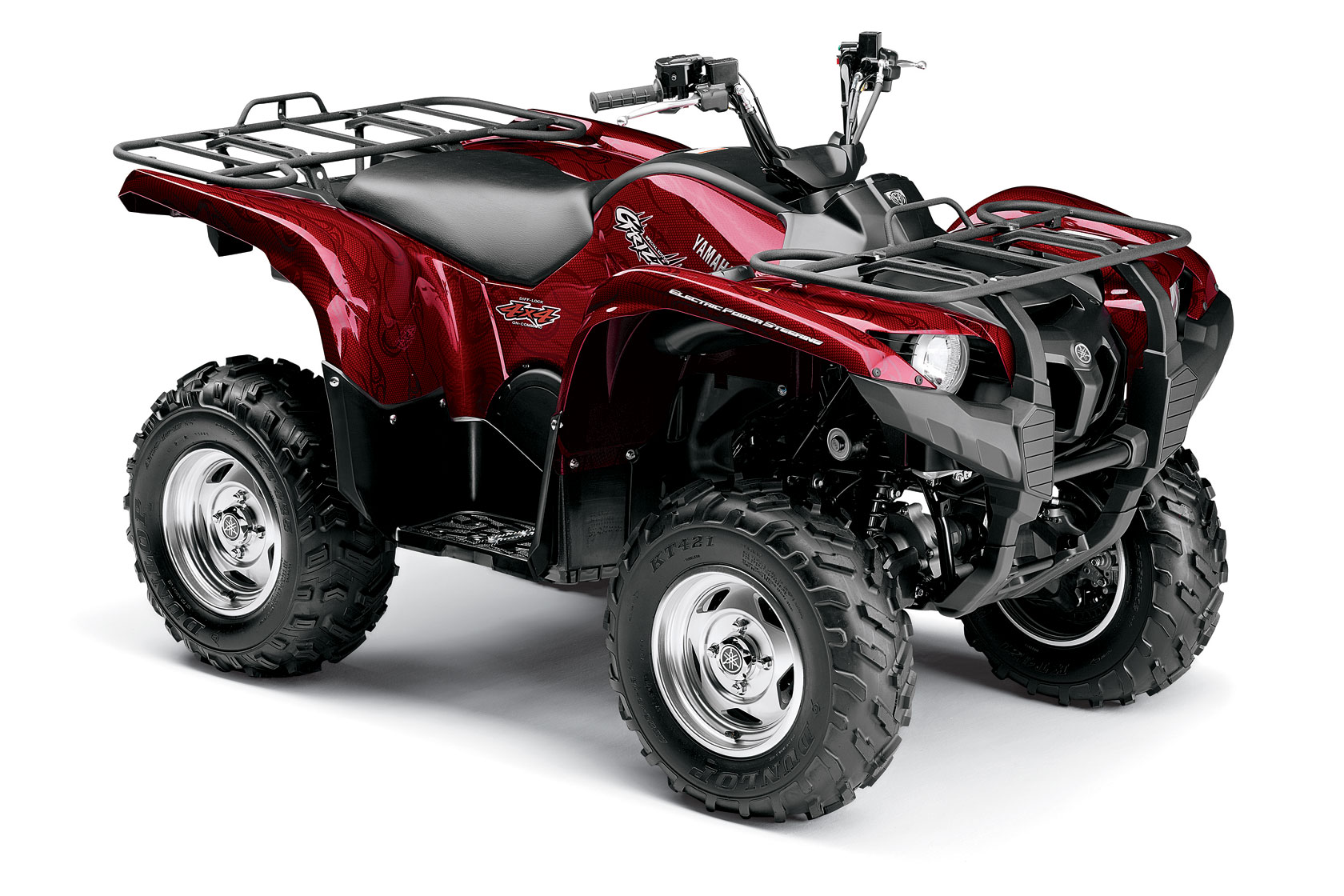 Yamaha Grizzly 550 Fi Eps Special Edition Specs 2008