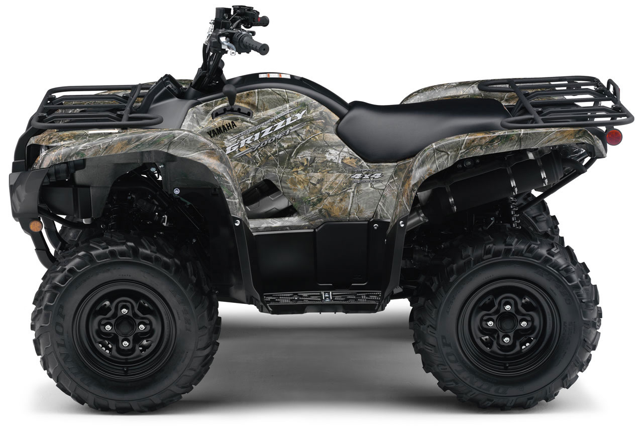 YAMAHA Grizzly 700 FI 4x4 EPS CamoAP HD - 2009, 2010 - autoevolution