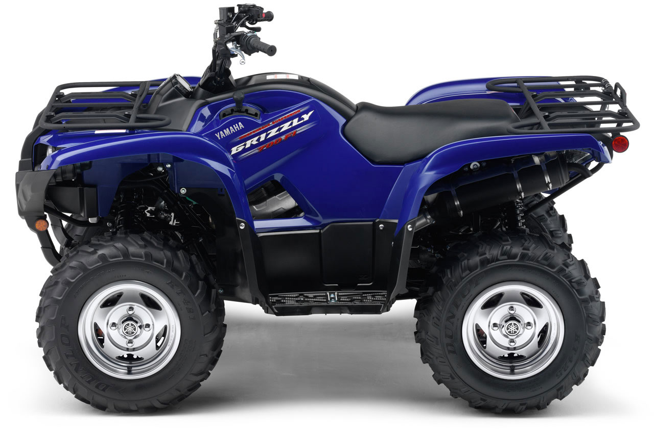 yamaha grizzly 700 fi 4x4 se specs 2010 2011. Black Bedroom Furniture Sets. Home Design Ideas
