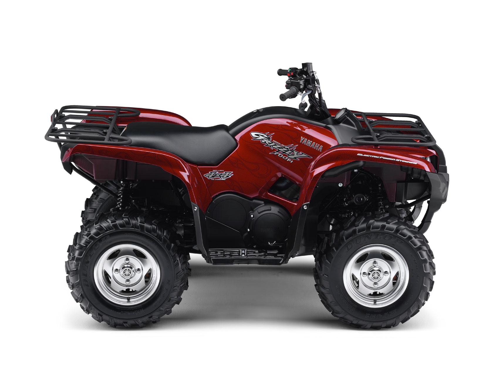 Yamaha grizzly 700 fi eps special edition specs 2008 for 2008 yamaha rhino 700
