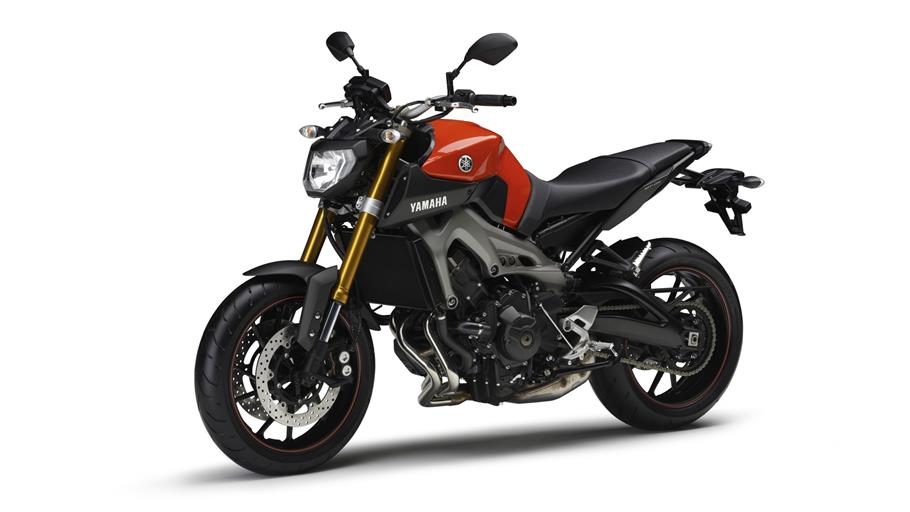 Test - Prøvekørsel - Yamaha MT 09 2014 - 125.000 kr.