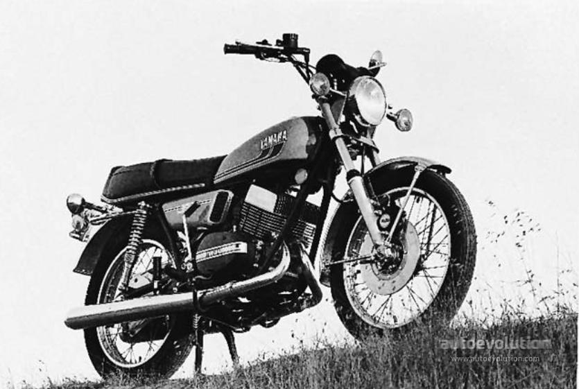YAMAHA RD 350 specs - 1973, 1974, 1975 - autoevolution