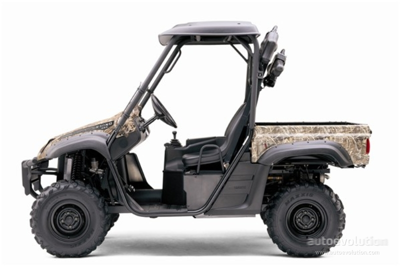 Yamaha Rhino 660 >> Yamaha Rhino 660 Auto 4x4 Ducks Unlimited Edition Specs