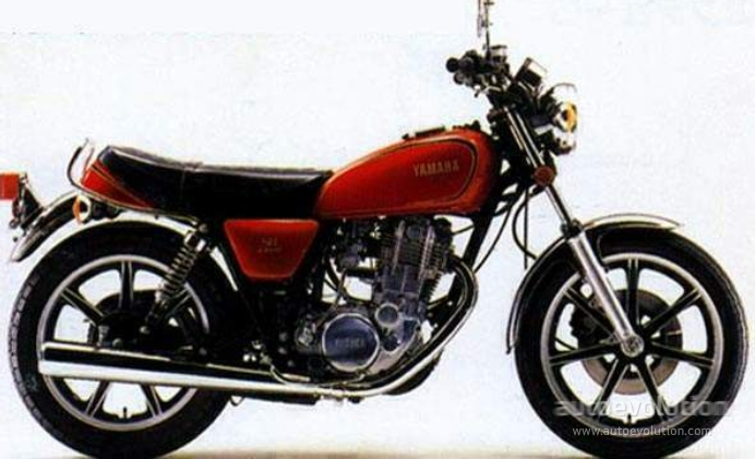 yamaha sr 400 specs 1978 1979 1980 1981 1982 1983