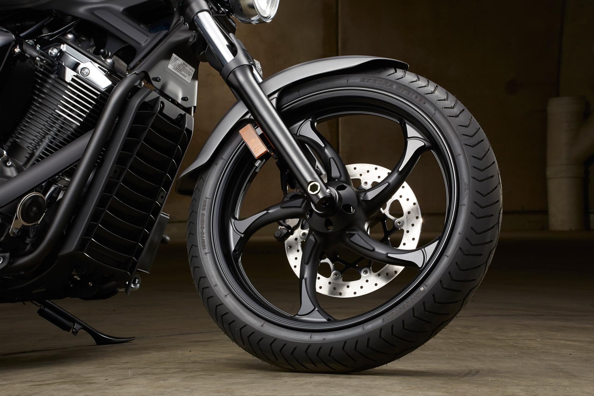Yamaha Stryker Custom Wheels Images