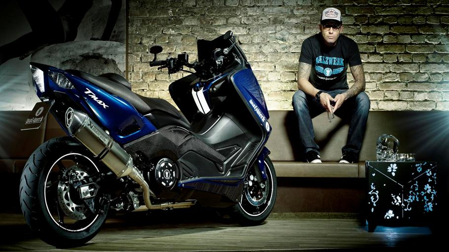 yamaha tmax hyper modified marcus walz specs 2012 2013 autoevolution. Black Bedroom Furniture Sets. Home Design Ideas