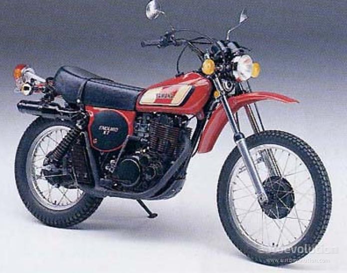 Yamaha Xt 500 1976 1977 1978 1979 1980 1981 1982