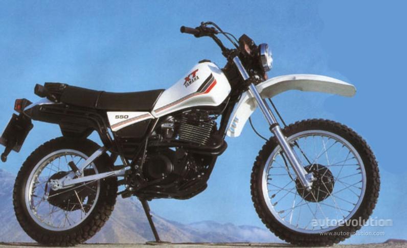 Yamaha xt 550 specs 1982 1983 1984 autoevolution for Yamaha clp 550 specifications