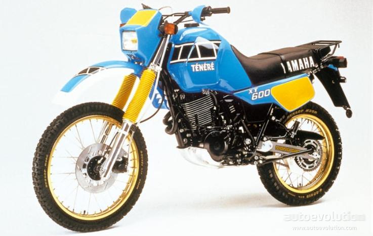 Yamaha Xt 600 Tenere Specs 1982 1983 1984 1985 1986
