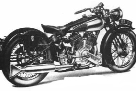 BROUGH SUPERIOR SS80 (1922 - 1940)