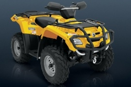 CAN-AM/ BRP Bombardier Outlander 400 HO XT (2005 - 2006)