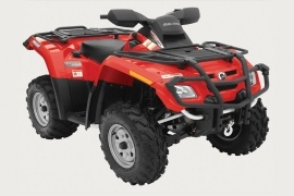 CAN-AM/ BRP Bombardier Outlander 800 HO EFI XT (2005 - 2006)