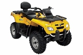CAN-AM/ BRP Bombardier Outlander MAX 800 HO EFI (2005 - 2006)