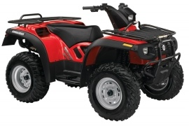 CAN-AM/ BRP Bombardier Traxter 500 5 speed Auto-Shift (2004 - 2005)