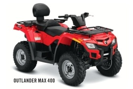 CAN-AM/ BRP OUTLANDER MAX 400 (2011 - 2012)