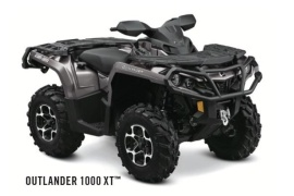 CAN-AM/ BRP Outlander 1000 XT (2011 - 2012)