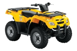 CAN-AM/ BRP Outlander 400 HO (2007 - 2008)