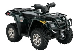 CAN-AM/ BRP Outlander 400 HO XT (2007 - 2008)