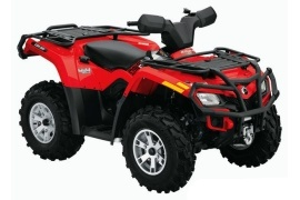 CAN-AM/ BRP Outlander 400 XT (2009 - 2010)