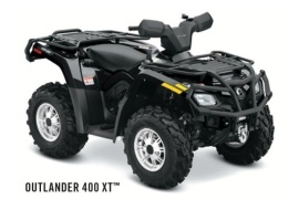 CAN-AM/ BRP Outlander 400 XT (2011 - 2012)