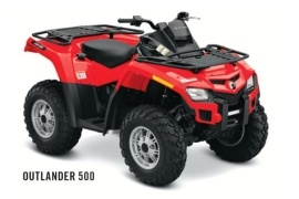 CAN-AM/ BRP Outlander 500 (2011 - 2012)
