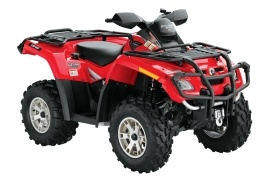 CAN-AM/ BRP Outlander 500 HO EFI XT (2007 - 2008)